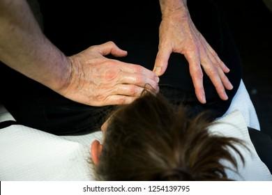 Chiropractor Patient massage