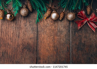 chirstmas on wood background wood retro and green chirstmas tree on background