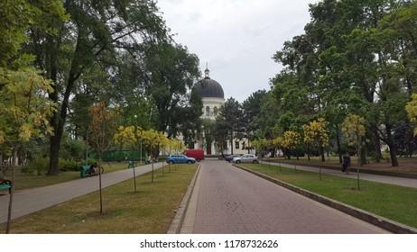 Chisinau, Moldova - July 24, 2017: Cathedral of Christs Nativity in Chisinau