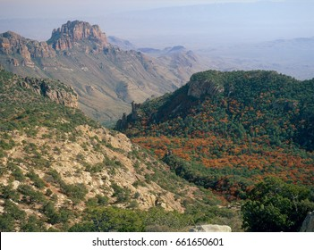 The Chisos Mountains from the summit of Emory Peak, Big Bend National Park, Texas