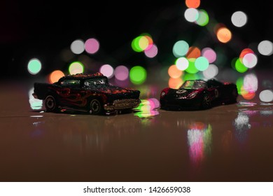 Chittagong,bangladesh - June 15, 2019 : Hotwheels diecast model cars. Hotwheels diecast made in Malaysia.