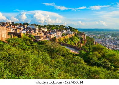 Chittor Fort in Chittorgarh city, Rajasthan state of India