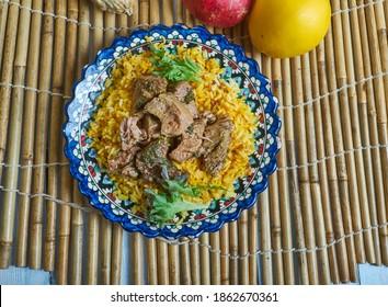 Chivo Liniero - Spicy Goat Meat Stew, Food Dominikanische Republik,