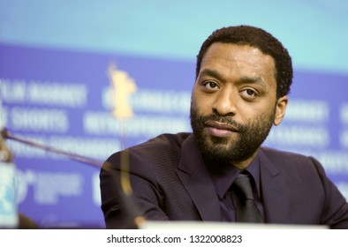 Chiwetel Ejiofor is seen at the press conference for the Netflix film 'The Boy Who Harnessed The Wind' during the 69 Berlinale Festival at Grand Hyatt Hotel on February 12, 2019 in Berlin, Germany.