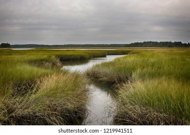 Choate Island is a small island near Crane Beach in Ipswich, Massachusetts