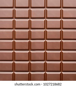 chocolate bar background or texture