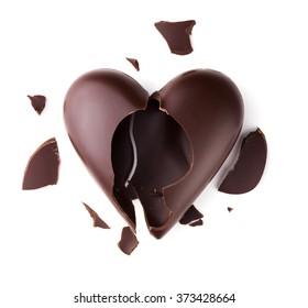 Chocolate broken heart
