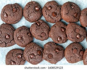 Chocolate Brownie  Keto Cookies: healthy snack or dessert for a ketogenic diet