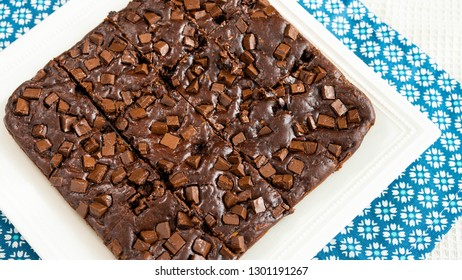 Chocolate brownie portions