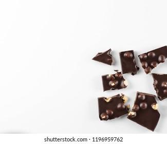 chocolate cashew nuts almonds hazelnuts