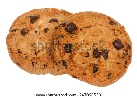 Chocolate Chip Cookies Stock Photo (Edit Now) 247058530