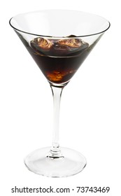 Chocolate cocktail chilled
