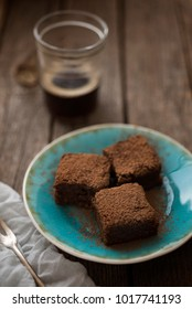 Chocolate and cocoa brownies