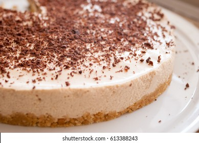 Chocolate + coffee cheesecake