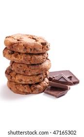 chocolate cookies with chocolate