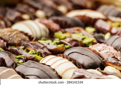 Chocolate Covered Dates