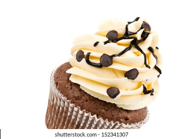 Chocolate CupCake with space for text