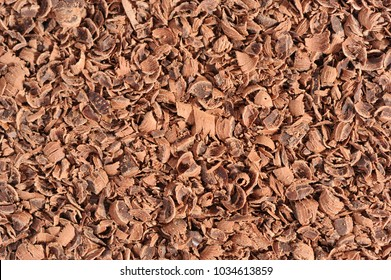 Chocolate Flakes Close-Up