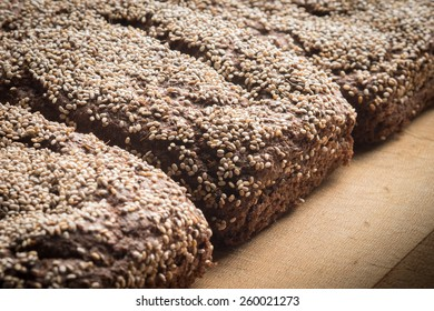 Chocolate Flaxseed Bread with chia seeds