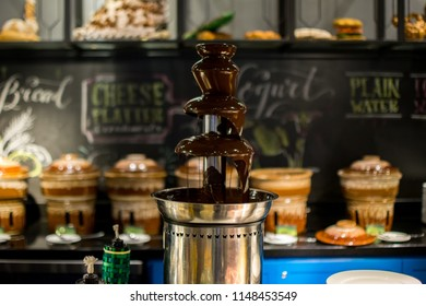 Chocolate Fountain Images Stock Photos Vectors Shutterstock