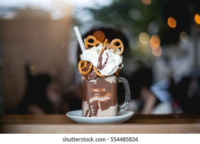 chocolate freakshake