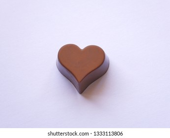 Chocolate heart with amazing details