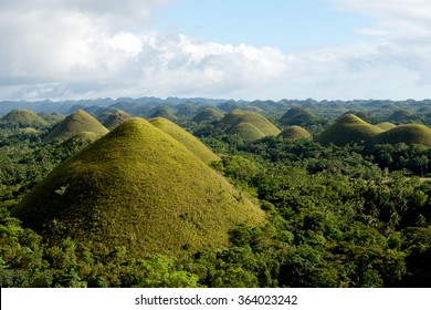 The Chocolate Hills, Bohol, Philippines