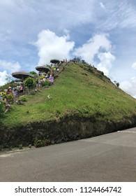 Chocolate Hills Bohol Philippines Island Beautiful Nature Background