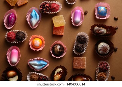 Chocolate and marmalade collection above