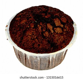 Chocolate muffin without filling