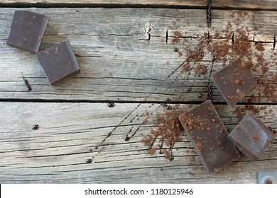 chocolate on table
