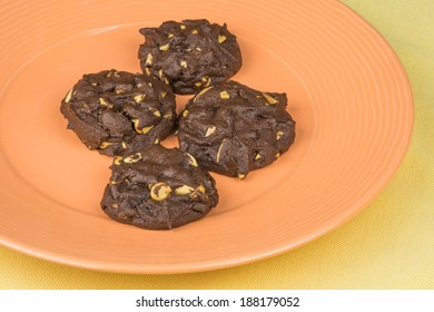 chocolate peanut butter cookies