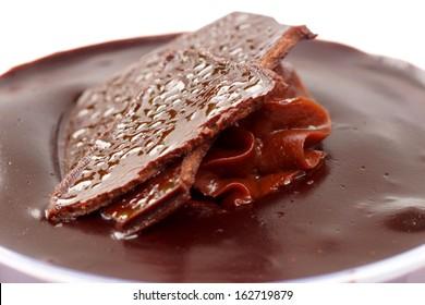 Chocolate sheet cake.