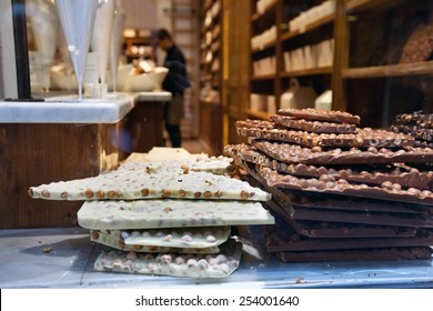 chocolate shop in Belgium, Brussels