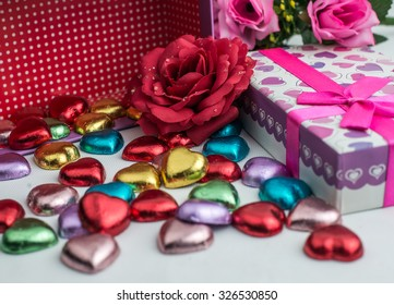 Chocolate is sweetest gift for my love
