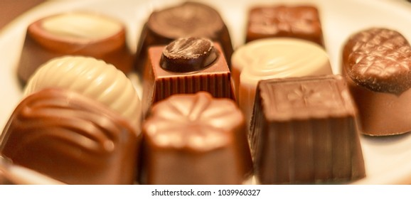 Chocolate sweets assortment