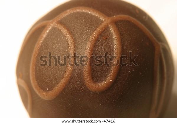chocolate swirl truffle