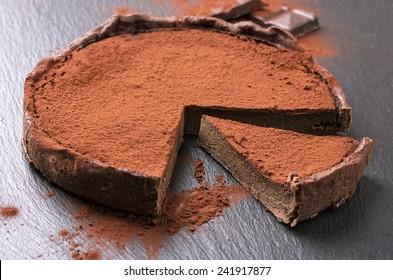 chocolate tarte