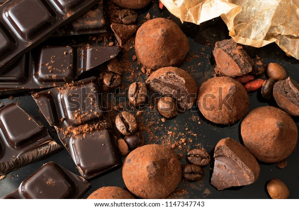 chocolate and truffle candies