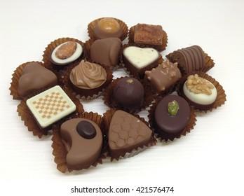 Chocolate Truffles, Chocolate candies