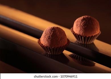 Chocolate  truffles / pralines