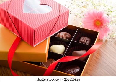 Chocolate of Valentine's Day