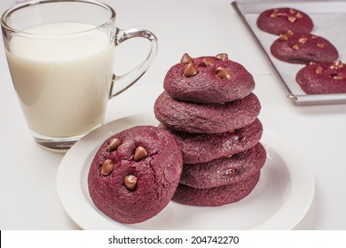 Chocolate velvet cookies