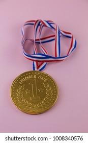 chocolate winner medal