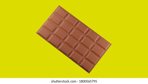ChocolateBar And Yellow full BackGround