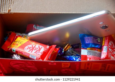 chocolates food items, 8july2018,dhaka,Bangladesh