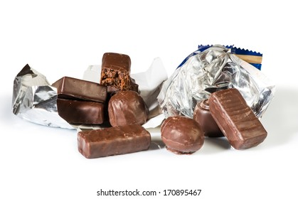 Chocolates and their packaging