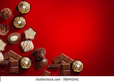 Chocolates for valentines day, Christmas or birthday