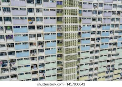 Choi Hung, Hong Kong 16 May 2019: Choi Hung estate
