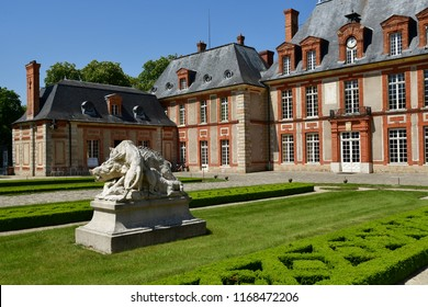 Choisel, France - may 6 2018 : the Breteuil castle